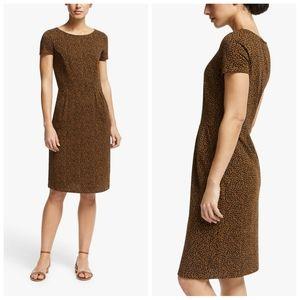 Boden Phoebe cheetah print dress
